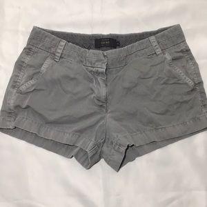 🔖 J Crew Women's gray shorts